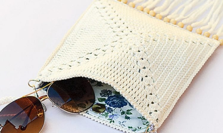 Summer Mini Shoulder Bag Free Crochet Pattern