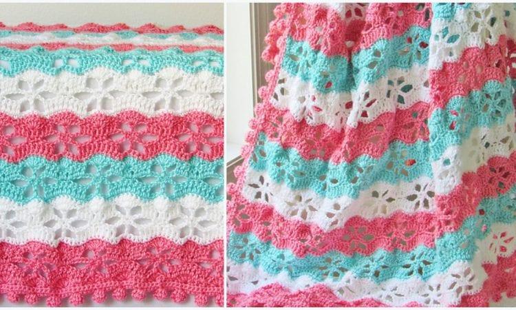 Twinkling Star Blanket Free Crochet Pattern Your Crochet