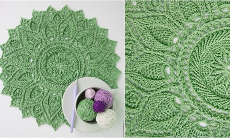 Ultra Doily Free Crochet Pattern