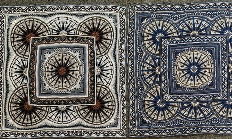 Mossy Oaks Rug Free Crochet Pattern