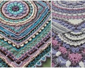 Jacaranda CAL Tablecloth Free Crochet Pattern