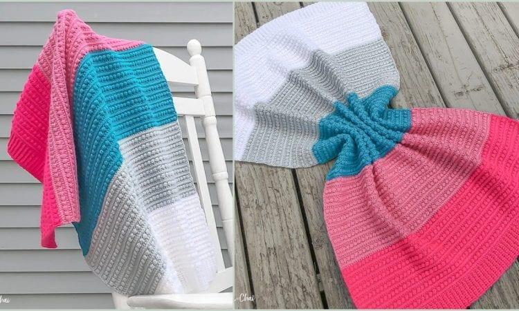 Malia Baby Blanket Free Crochet Pattern