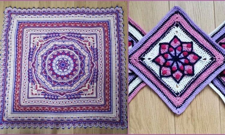 Myriad CAL Blanket Free Crochet Pattern