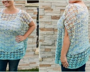 Shell Yeah! Tunic Free Crochet Pattern