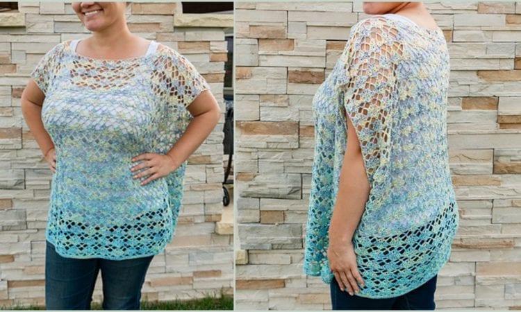 Shell Yeah! Tunic Free Crochet Pattern