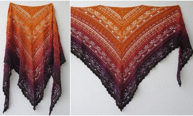 SISLove Shawl Free Crochet Pattern