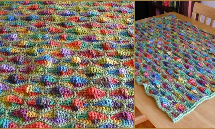 Streamwave Throw Free Crochet Pattern