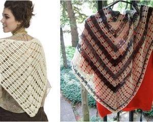 Amita Shawl Free Crochet Pattern