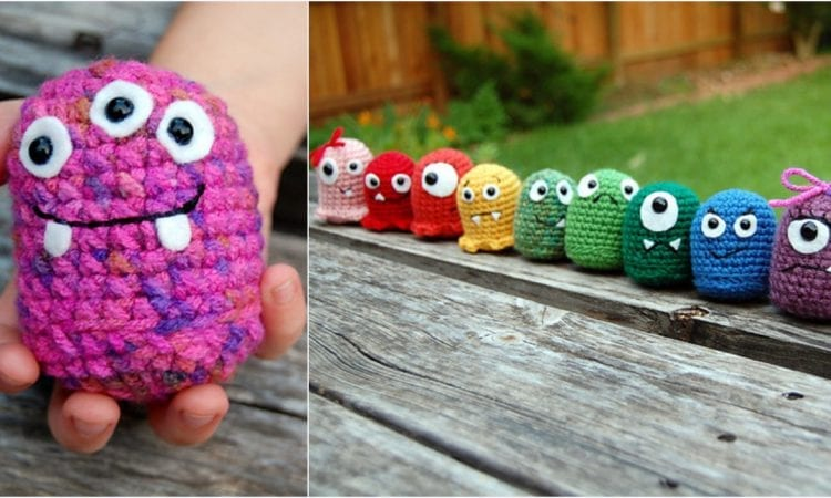 Baby Monster Collection Beginner Amigurumi