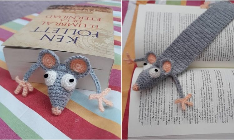 Book Rat Free Crochet Pattern
