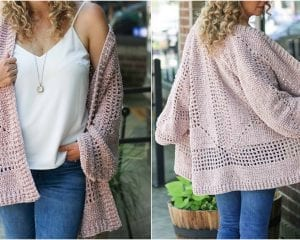 Brunch Cardigan Free Crochet Pattern