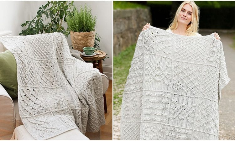 Celtic Comfort Free Crochet Pattern