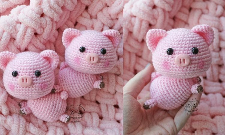Cute Tiny Pig Free Crochet Pattern