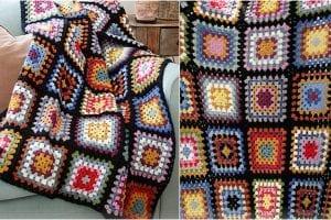 Granny Hugs Blanket Free Crochet Pattern