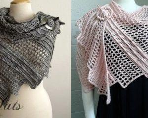Lizard Shawl Free Crochet Pattern