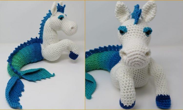 Murdock the Kelpie Free Crochet Pattern