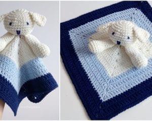 Puppy Baby Lovey Free Crochet Pattern