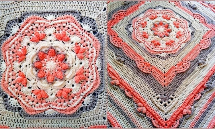 Slow Down Blanket CAL Free Crochet Pattern