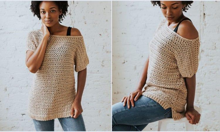 Summertime Tee Free Crochet Pattern