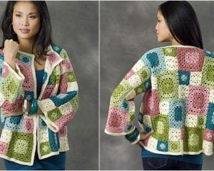 Tulsa Jacket Free Crochet Pattern