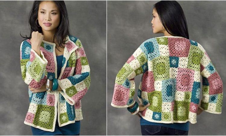 Tulsa Jacket Free Crochet Pattern