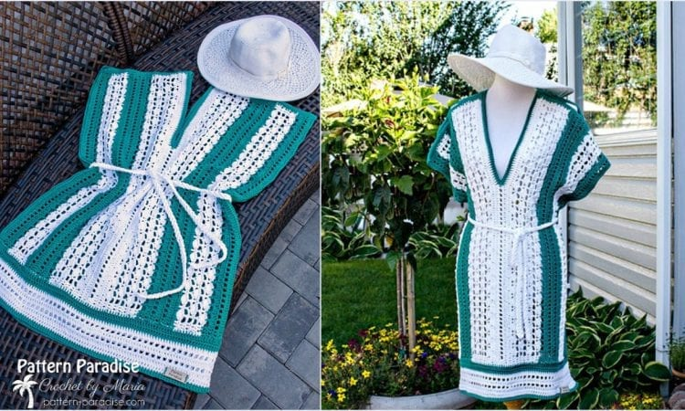 Weekender Tunic and Beach Cover Up Free Crochet Pattern