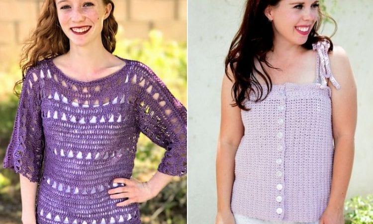 Fun Crochet Summer Tops