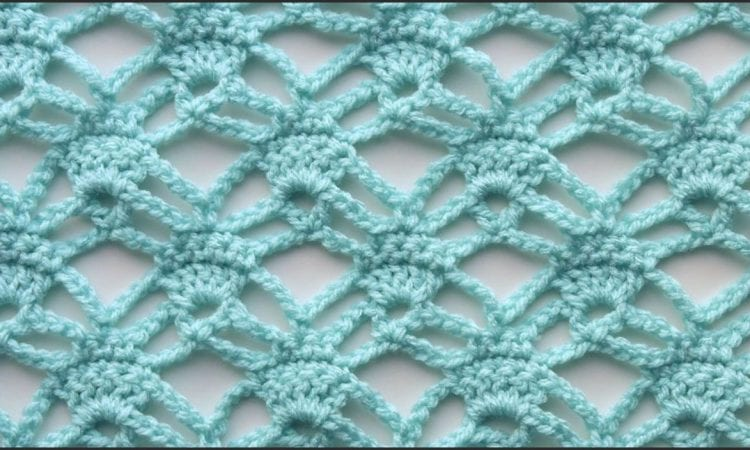 Candlelight Lace Stitch Free Crochet Pattern