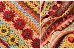 Autumn Rhapsody Blanket CAL