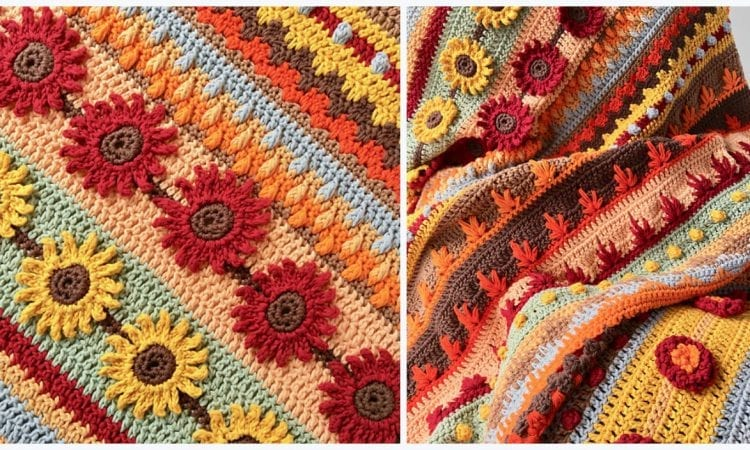 Autumn Rhapsody Blanket CAL