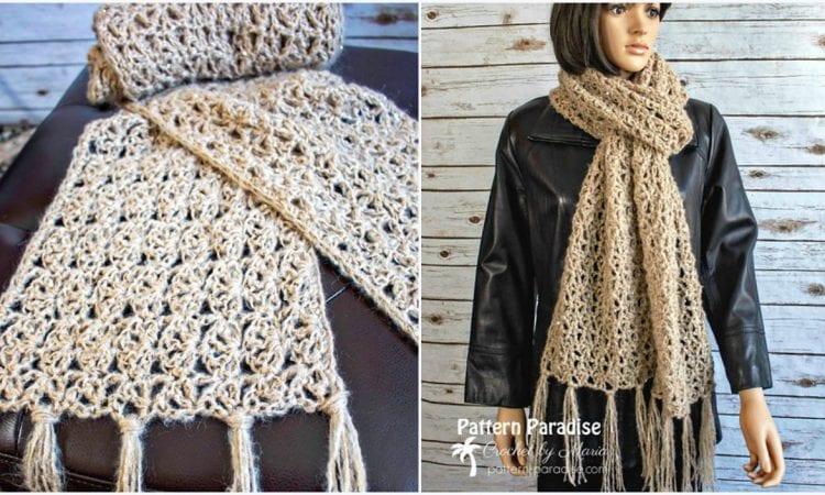 Jacqueline Scarf Free Crochet Pattern