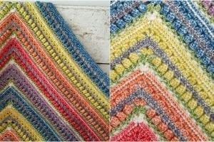 Namaqualand Blanket Free Crochet Pattern