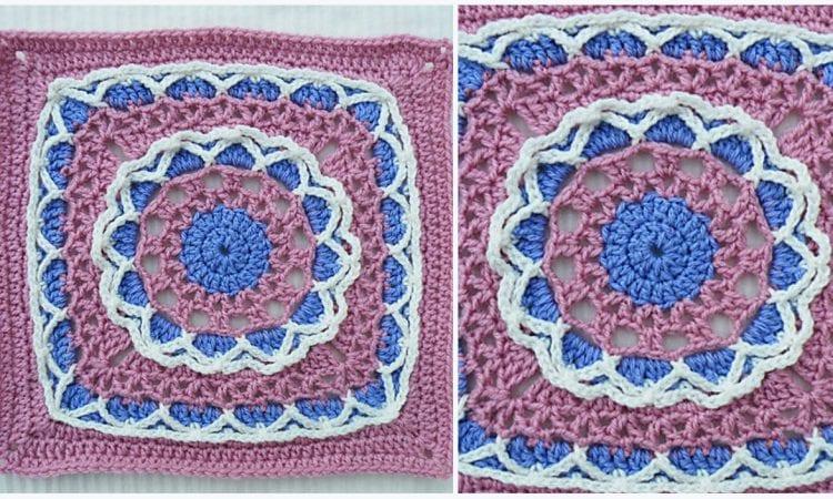 Anticipation Mystery Square Free Crochet Pattern