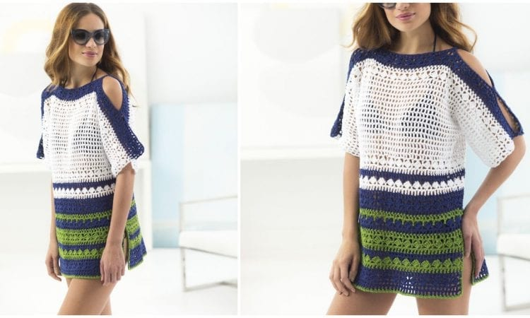 Beach Cover Up Free Crochet Pattern