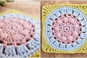 Calm Cove Square Free Crochet Pattern