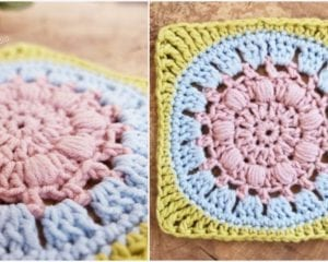 Calm Cove Square Free Crochet Pattern