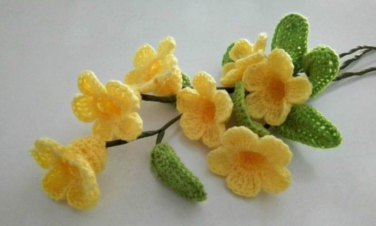 3D Flower Bouquet Free Crochet Pattern