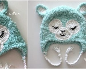 Llama Hat Free Crochet Pattern