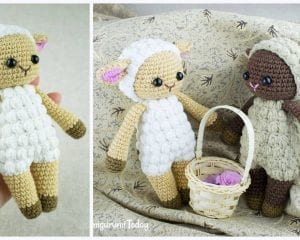 Cuddle me Sheep Free Crochet Pattern