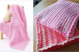 One Skein Baby Blanket Free Crochet Pattern
