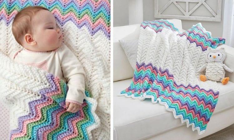 Rickrack Rainbow Free Crochet Pattern