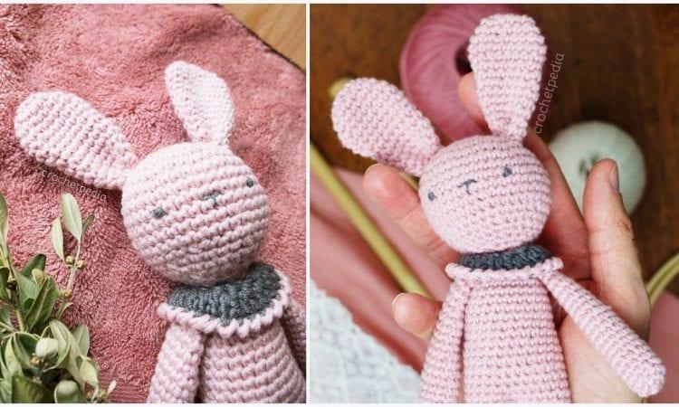 Rose Bunny Free Crochet Pattern