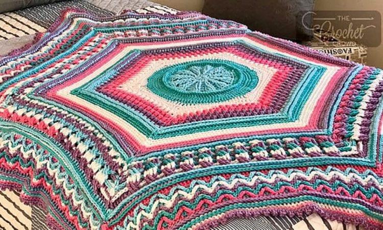 Study of Planet Earth Free Crochet Pattern