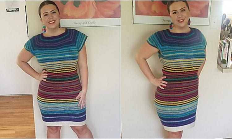 Temperature Dress Free Crochet Pattern