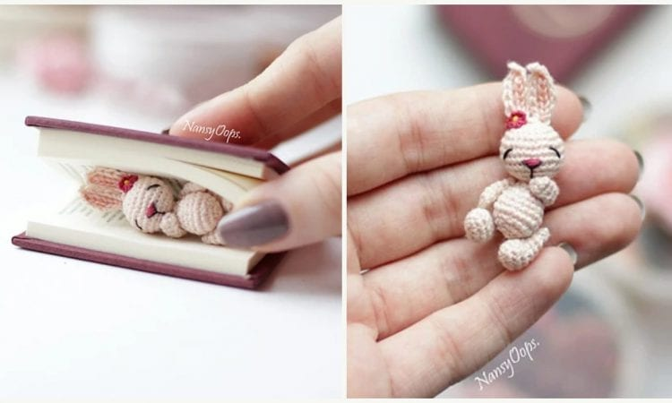 Tiny Bunny Free Crochet Pattern