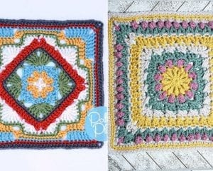 Eye-catching Afghan Squares