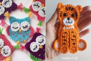 Lovely Animal Appliques