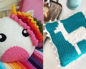 Perfect Kids' Room Pillows Free Crochet Patterns