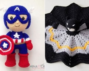 Superhero Amigurumi Ideas