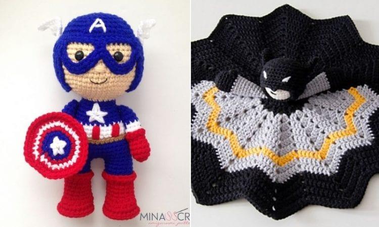 Superhero Amigurumi Ideas